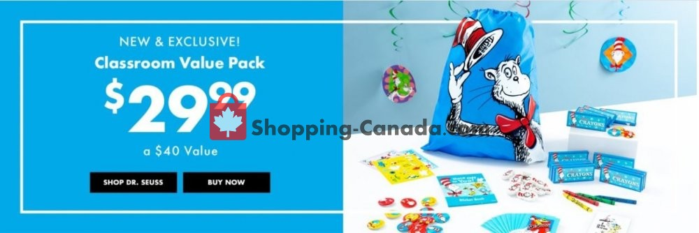 Flyer Party City Canada - from Friday February 15, 2019 to Thursday February 21, 2019