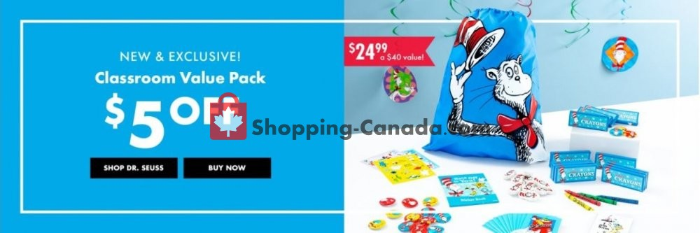 Flyer Party City Canada - from Monday February 18, 2019 to Sunday February 24, 2019