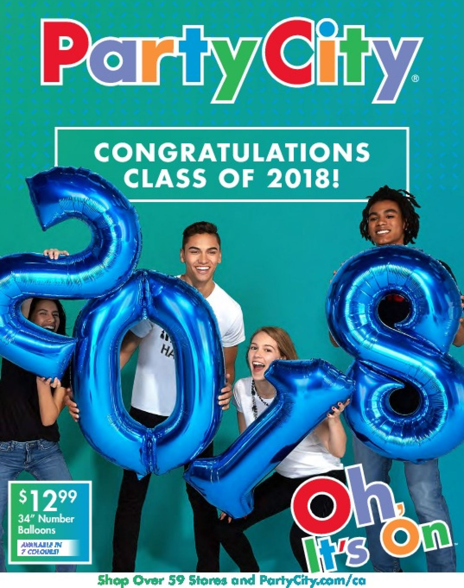 Flyer and weekly ads: Party City Canada - from Monday, May