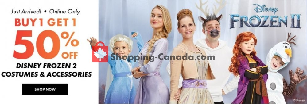 Flyer Party City Canada - from Saturday October 5, 2019 to Friday October 11, 2019