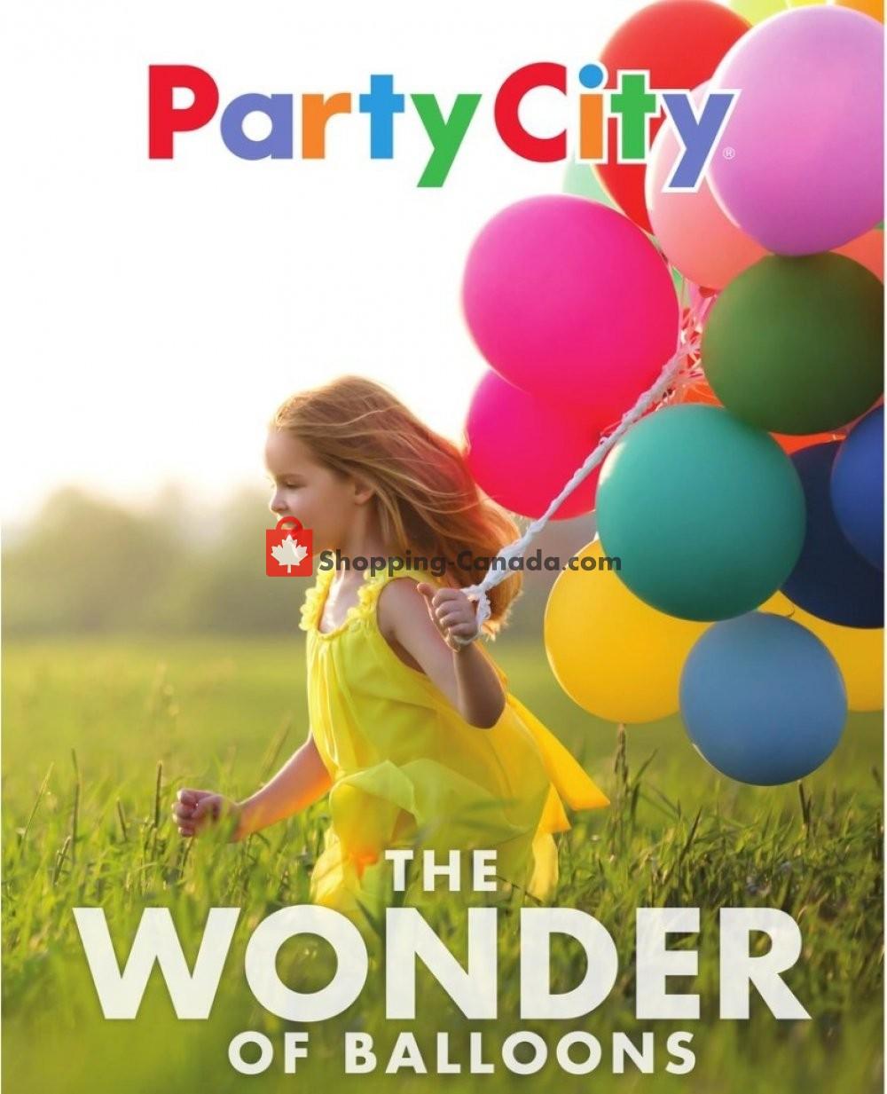 Flyer Party City Canada - from Saturday January 11, 2020 to Friday January 31, 2020
