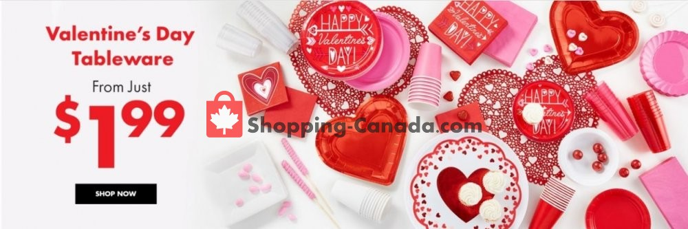 Flyer and weekly ads: Party City Canada - (Valentines Day