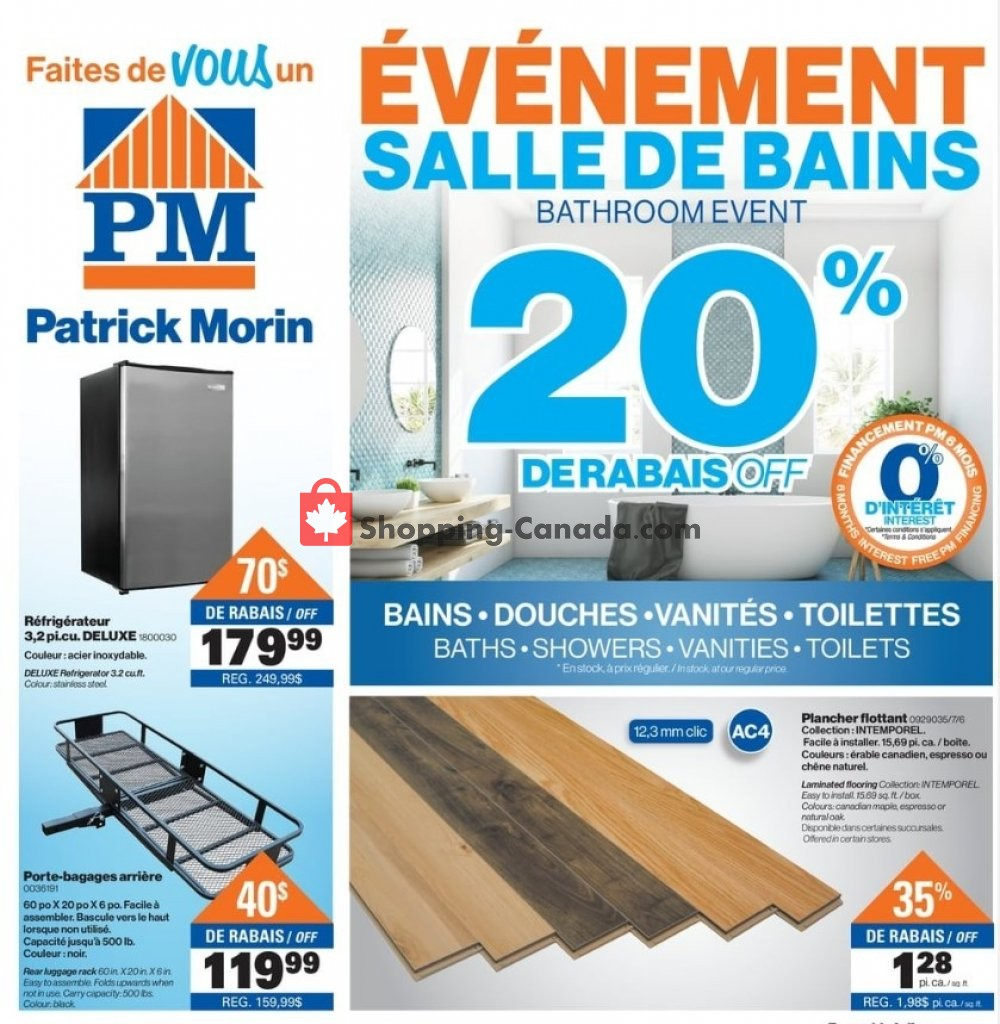 Flyer Patrick Morin Canada - from Thursday March 14, 2019 to Wednesday March 20, 2019