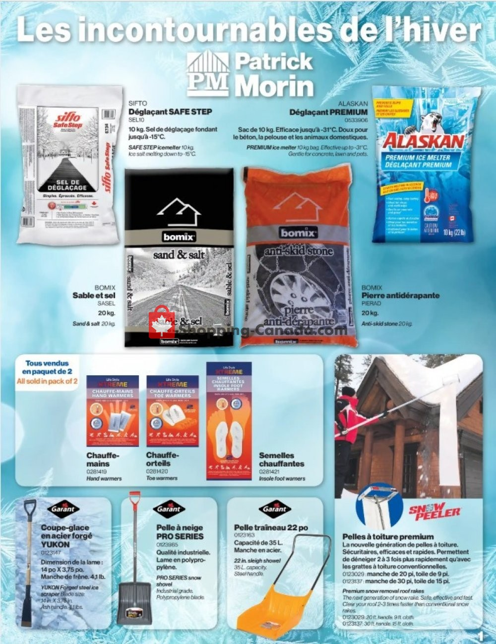 Flyer Patrick Morin Canada - from Monday January 27, 2020 to Friday February 14, 2020