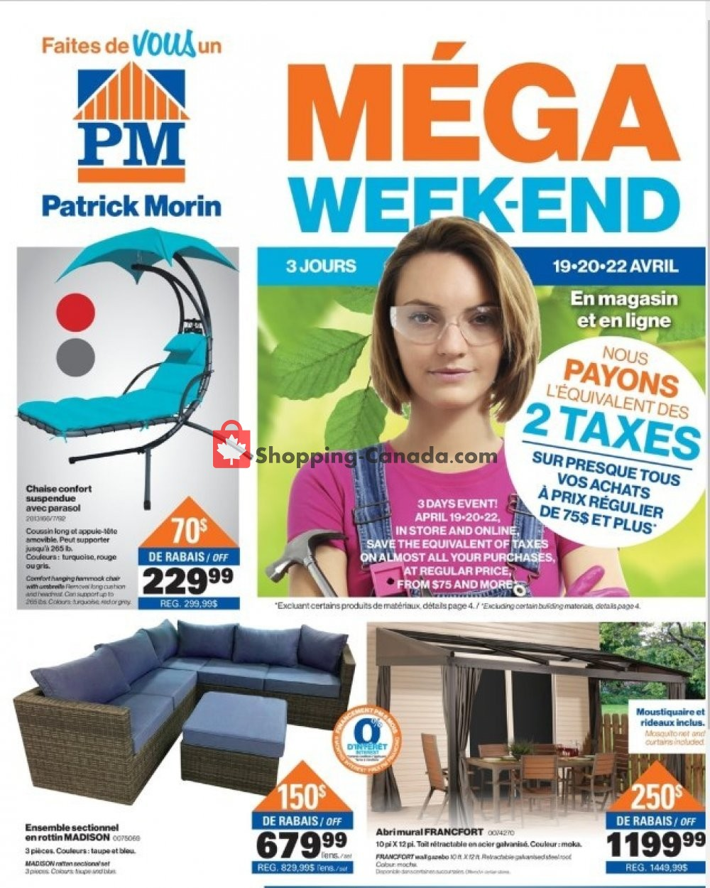 Flyer Patrick Morin Canada - from Thursday April 18, 2019 to Wednesday April 24, 2019