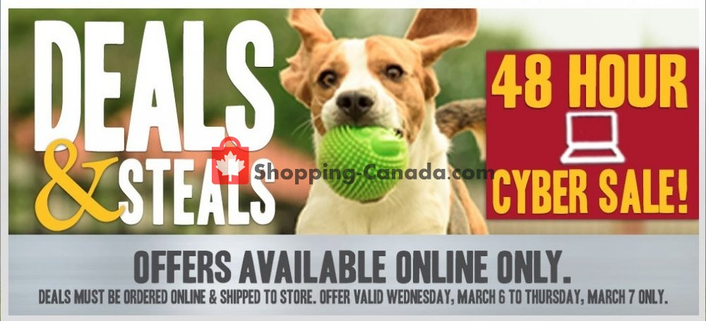 Flyer Peavey Mart Canada - from Wednesday March 6, 2019 to Thursday March 7, 2019