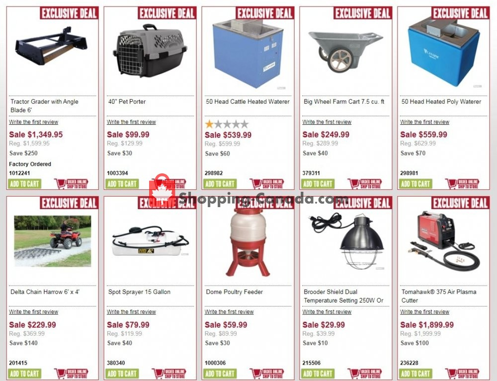 Flyer Peavey Mart Canada - from Monday October 7, 2019 to Wednesday October 9, 2019