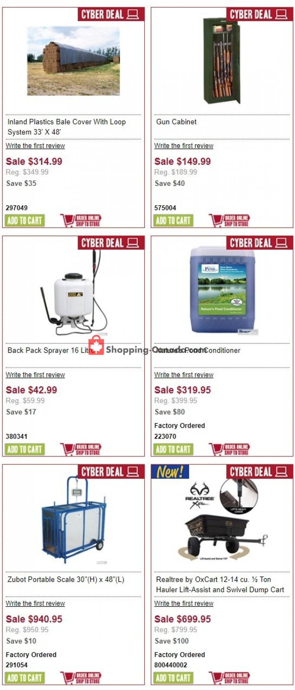 Flyer Peavey Mart Canada - from Wednesday August 7, 2019 to Thursday August 8, 2019