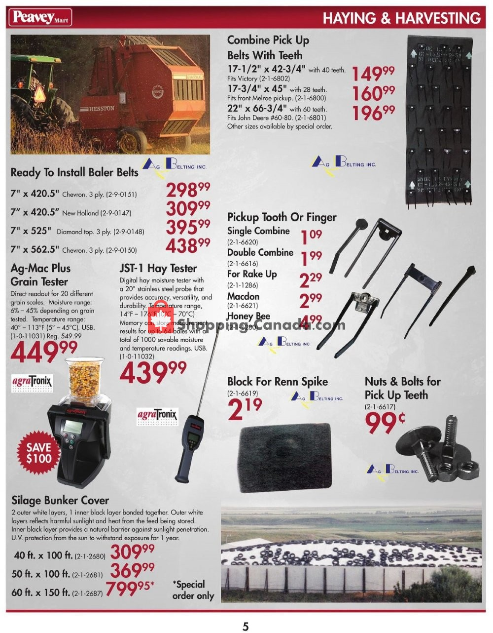 Flyer Peavey Mart Canada - from Tuesday July 2, 2019 to Wednesday July 31, 2019