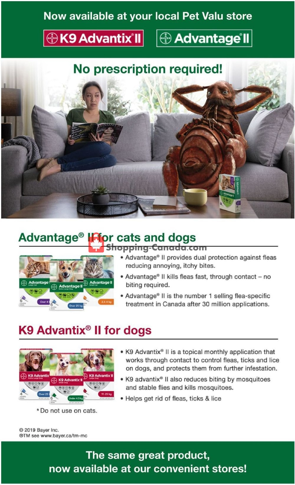 Flyer Pet Valu Canada - from Thursday September 5, 2019 to Sunday September 15, 2019
