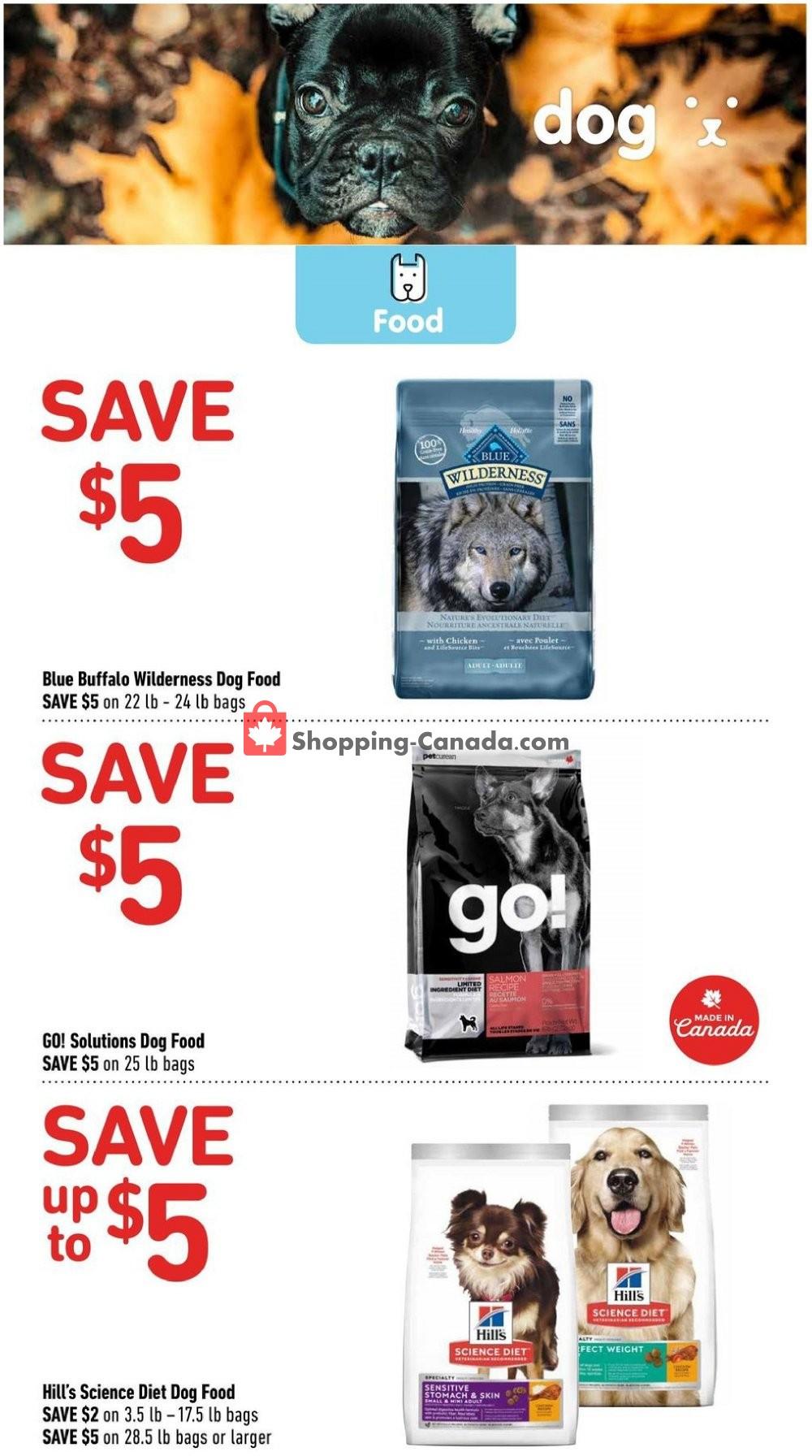 Flyer Pet Valu Canada - from Thursday September 5, 2019 to Sunday September 15, 2019