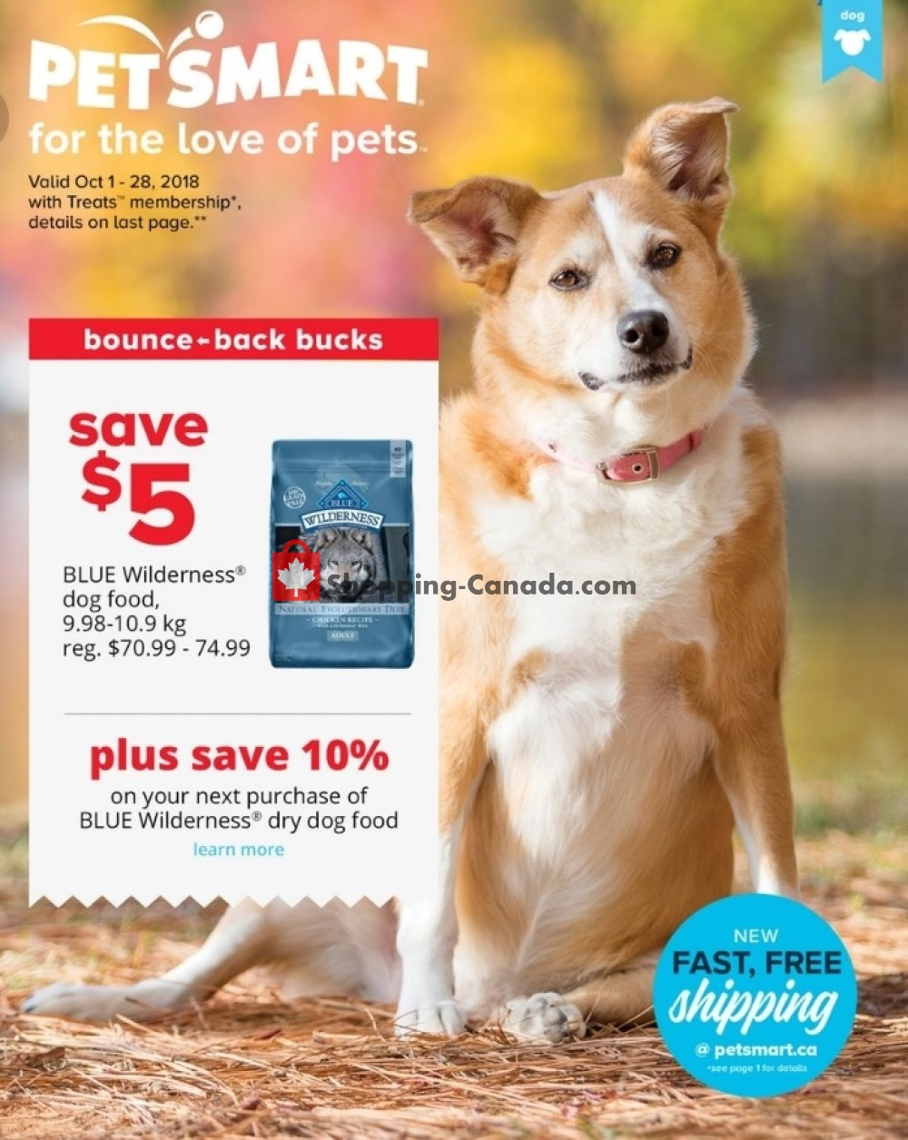 Flyer PetSmart Canada - from Monday October 1, 2018 to Sunday October 28, 2018