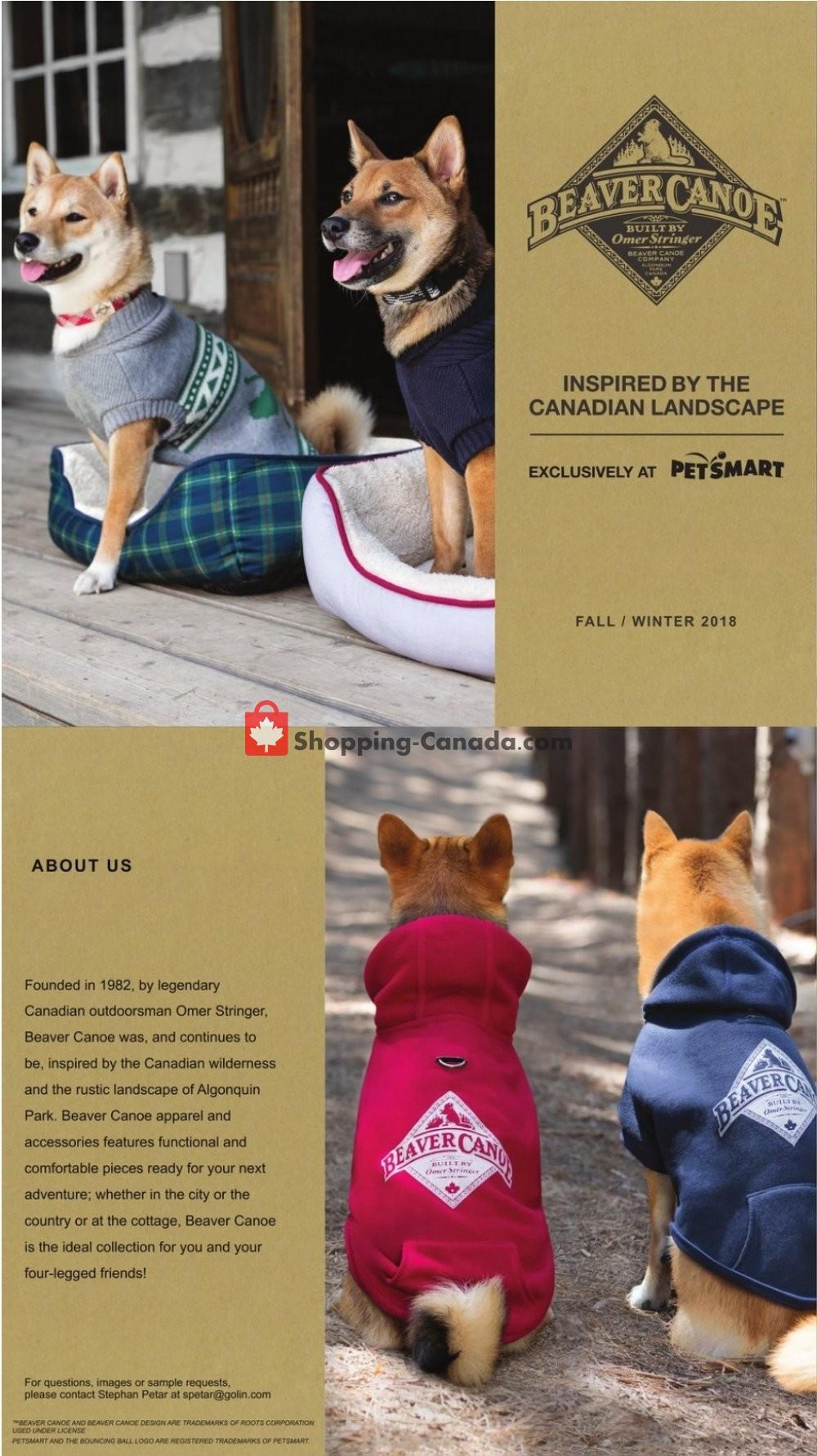 Flyer PetSmart Canada - from Wednesday October 10, 2018 to Wednesday October 31, 2018