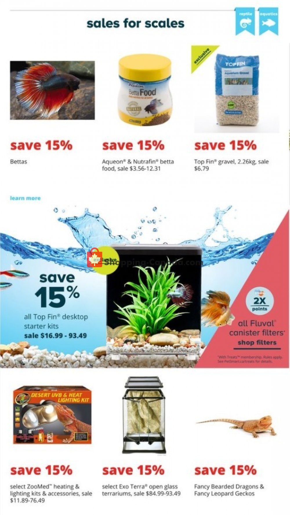 Flyer PetSmart Canada - from Monday July 8, 2019 to Sunday August 4, 2019