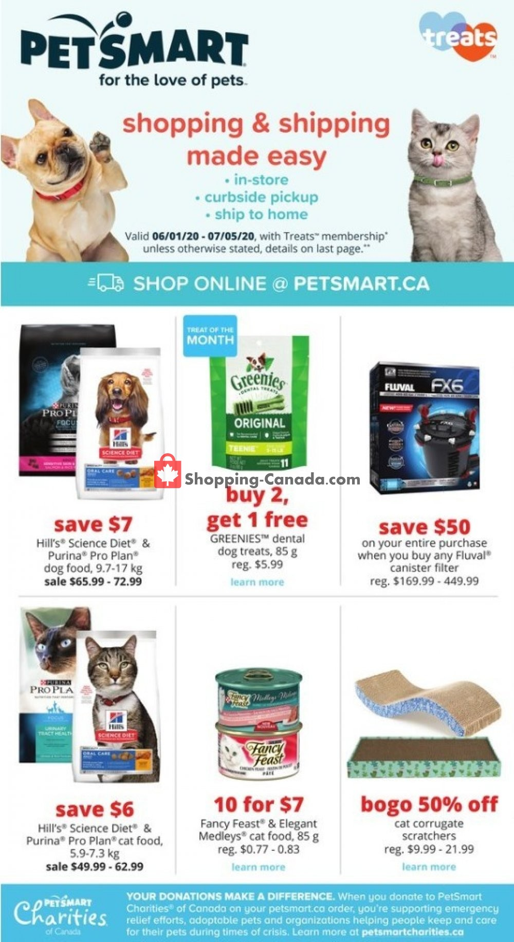 Flyer PetSmart Canada - from Monday June 1, 2020 to Sunday July 5, 2020