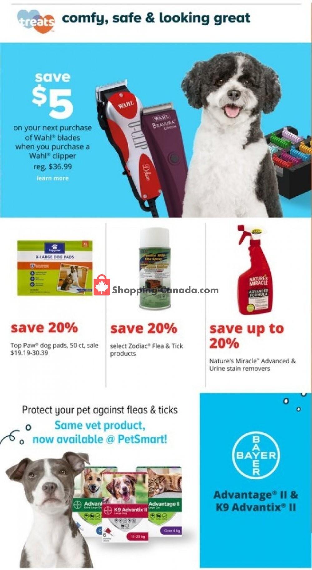 Flyer PetSmart Canada - from Monday October 7, 2019 to Sunday November 3, 2019