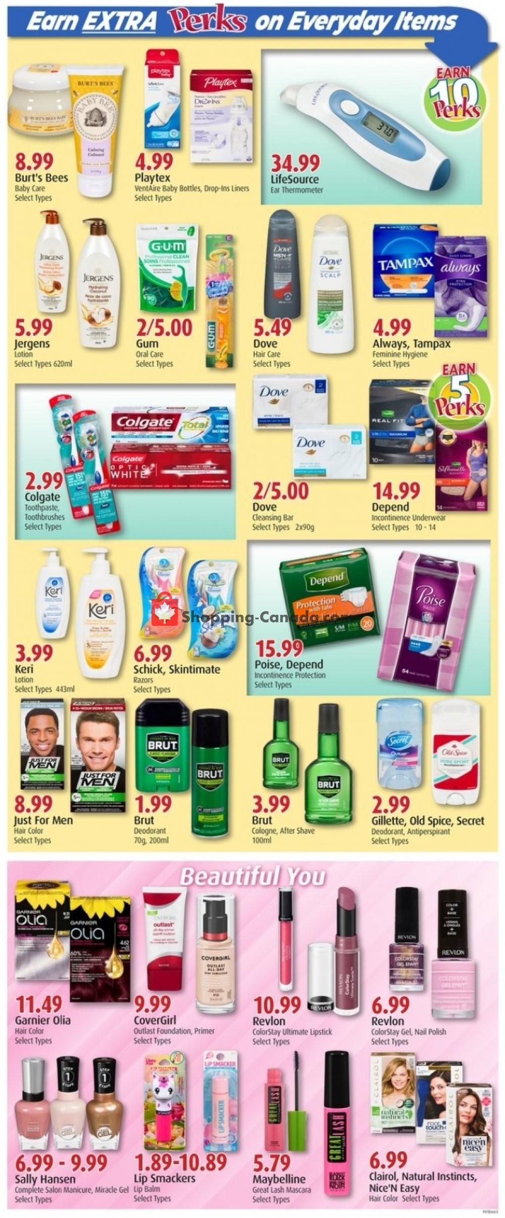 Flyer Pharma Choice Canada - from Thursday October 10, 2019 to Wednesday October 16, 2019