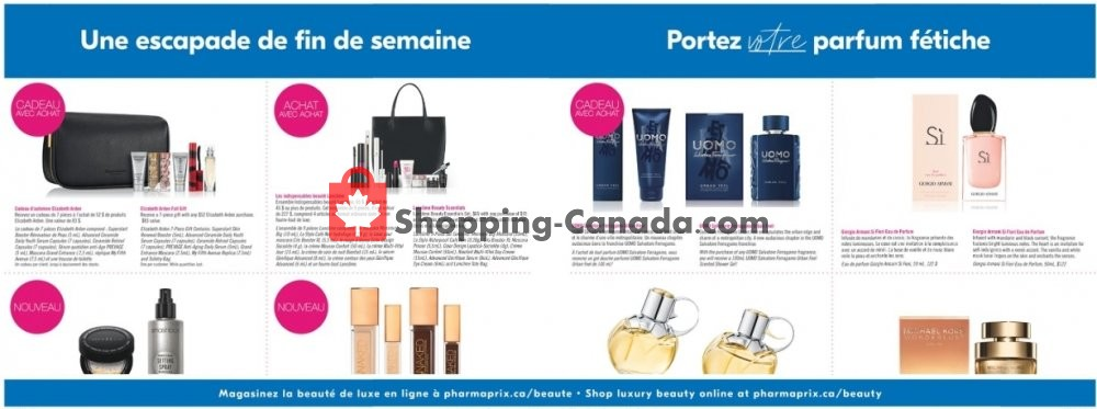 Flyer Pharmaprix Canada - from Saturday August 10, 2019 to Thursday August 15, 2019