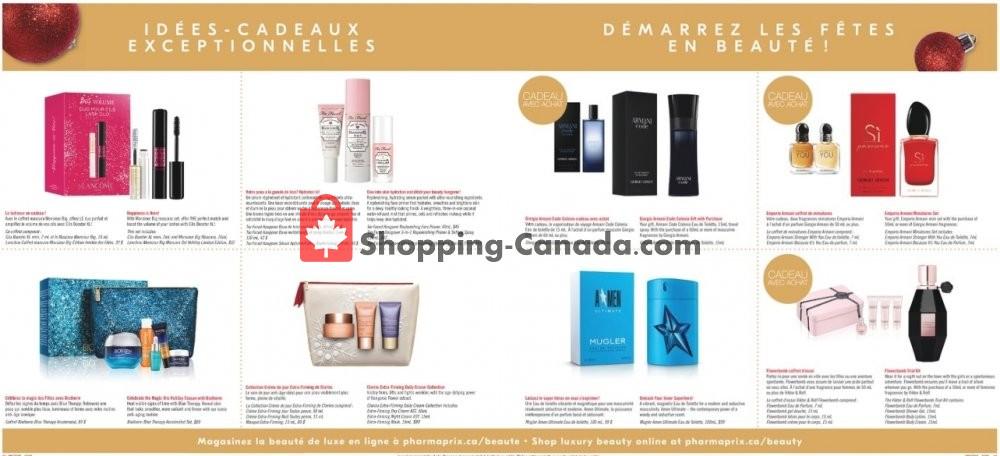 Flyer Pharmaprix Canada - from Saturday November 9, 2019 to Thursday November 14, 2019