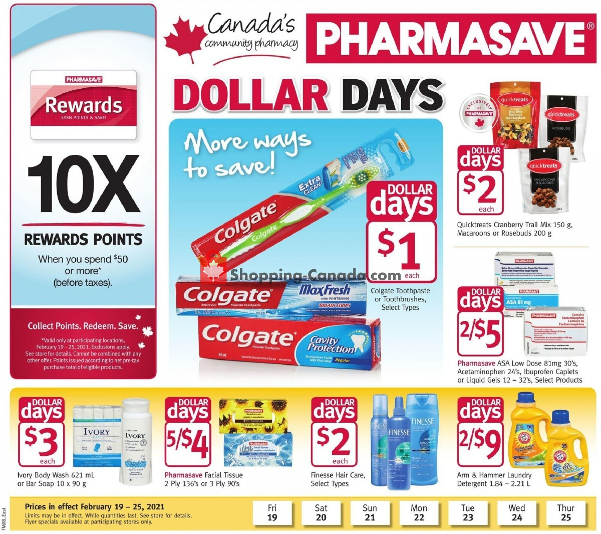 Flyer Pharmasave Canada - from Friday February 19, 2021 to Thursday February 25, 2021
