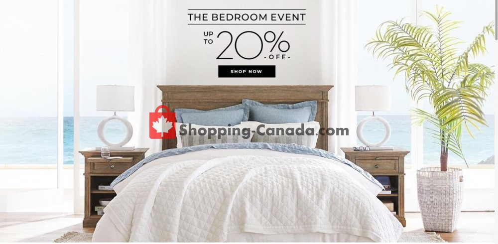 Flyer Pottery Barn Canada - from Saturday August 1, 2020 to Monday August 31, 2020