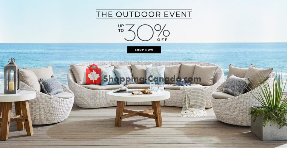 Flyer Pottery Barn Canada - from Monday June 1, 2020 to Tuesday June 30, 2020
