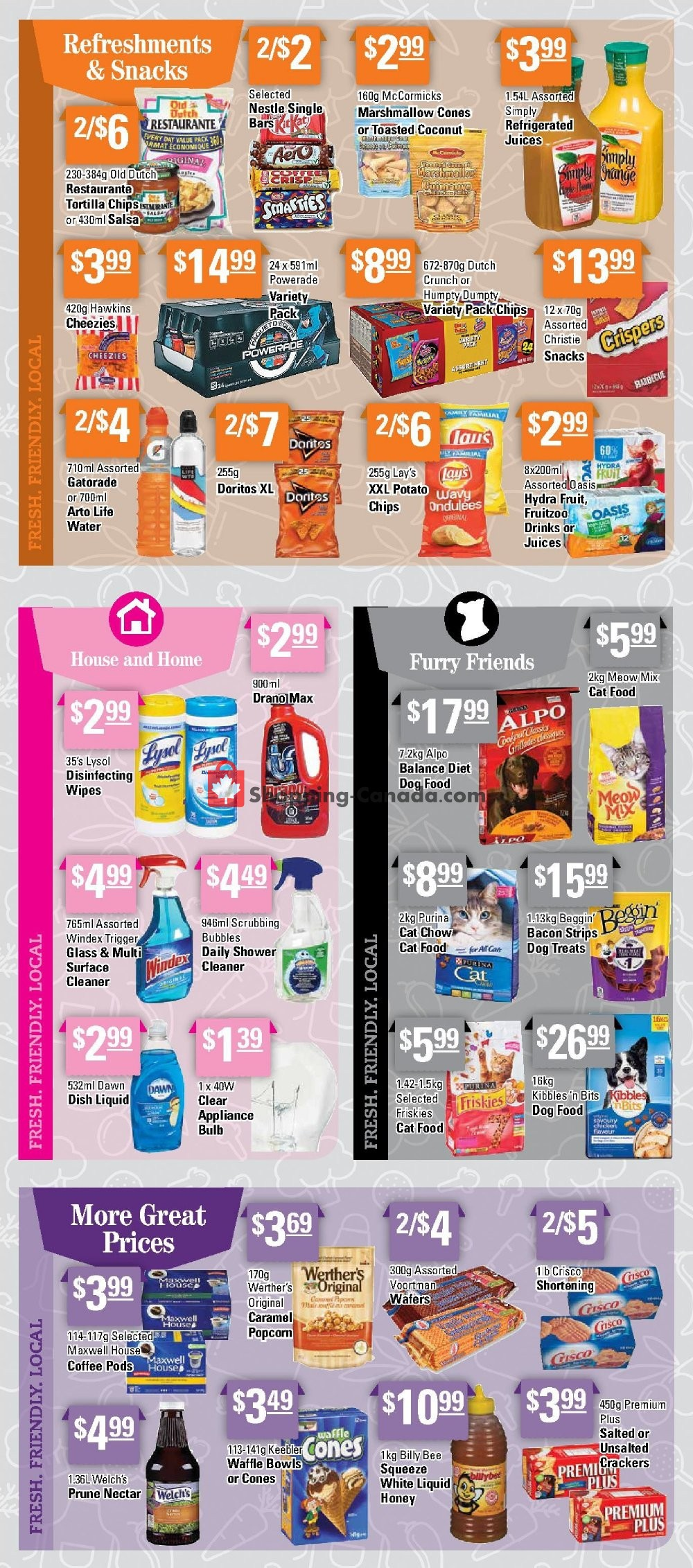 Flyer Powell's Supermarket Canada - from Thursday July 11, 2019 to Wednesday July 17, 2019