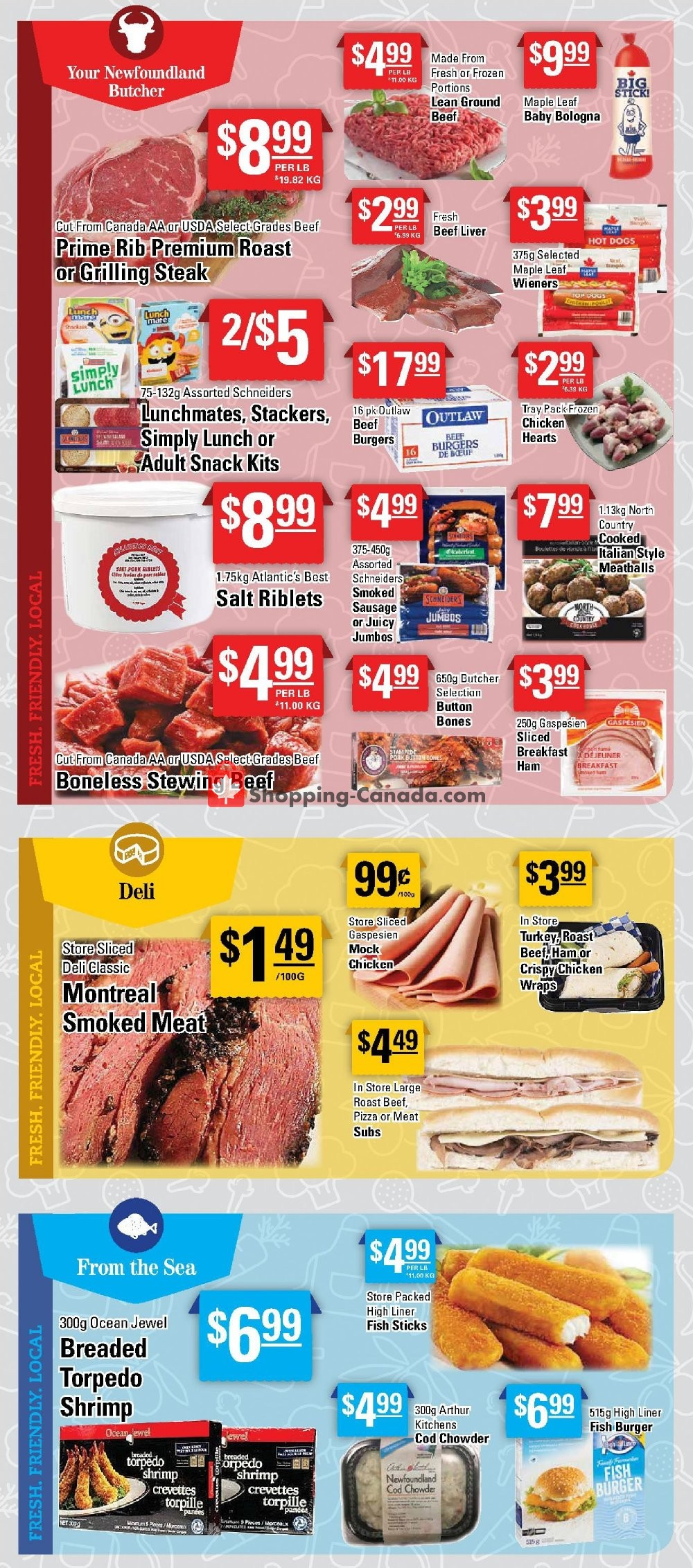 Flyer Powell's Supermarket Canada - from Thursday October 10, 2019 to Wednesday October 16, 2019