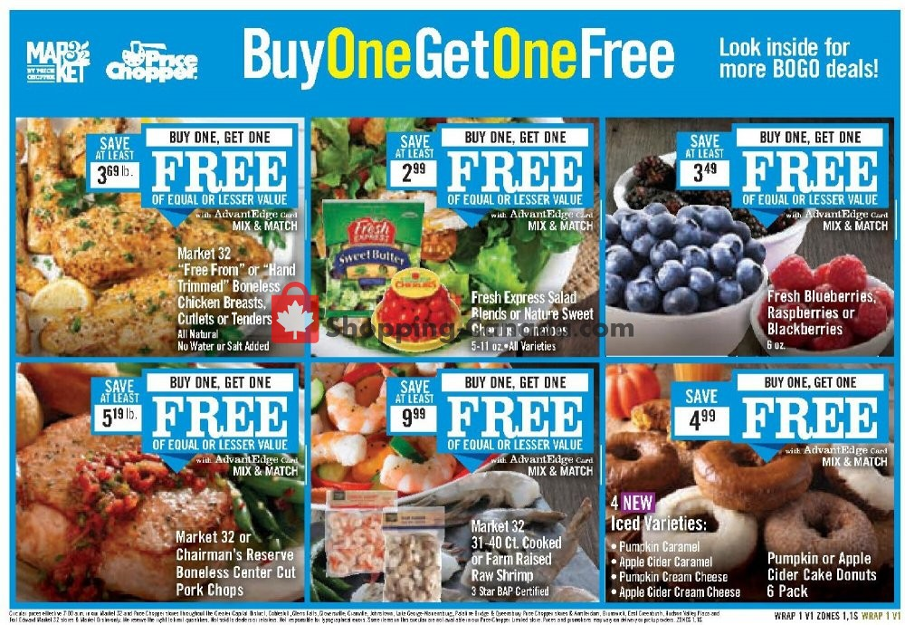 Flyer Price Chopper Canada - from Sunday October 18, 2020 to Saturday October 24, 2020