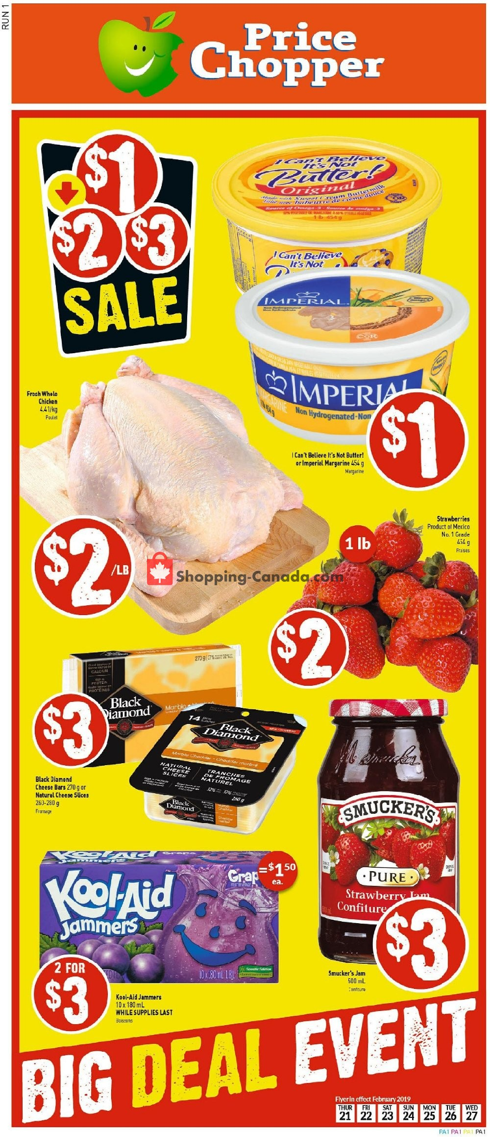 Flyer Price Chopper Canada - from Thursday March 7, 2019 to Wednesday March 13, 2019