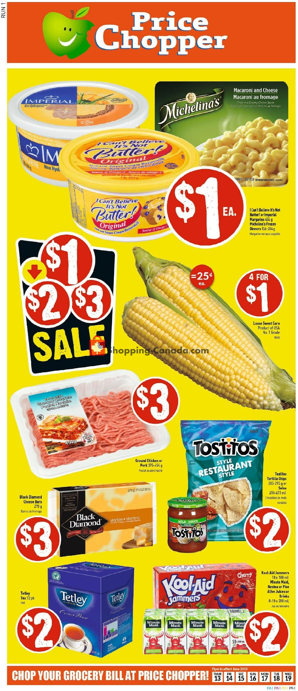 Flyer Price Chopper Canada - from Thursday June 13, 2019 to Wednesday June 19, 2019