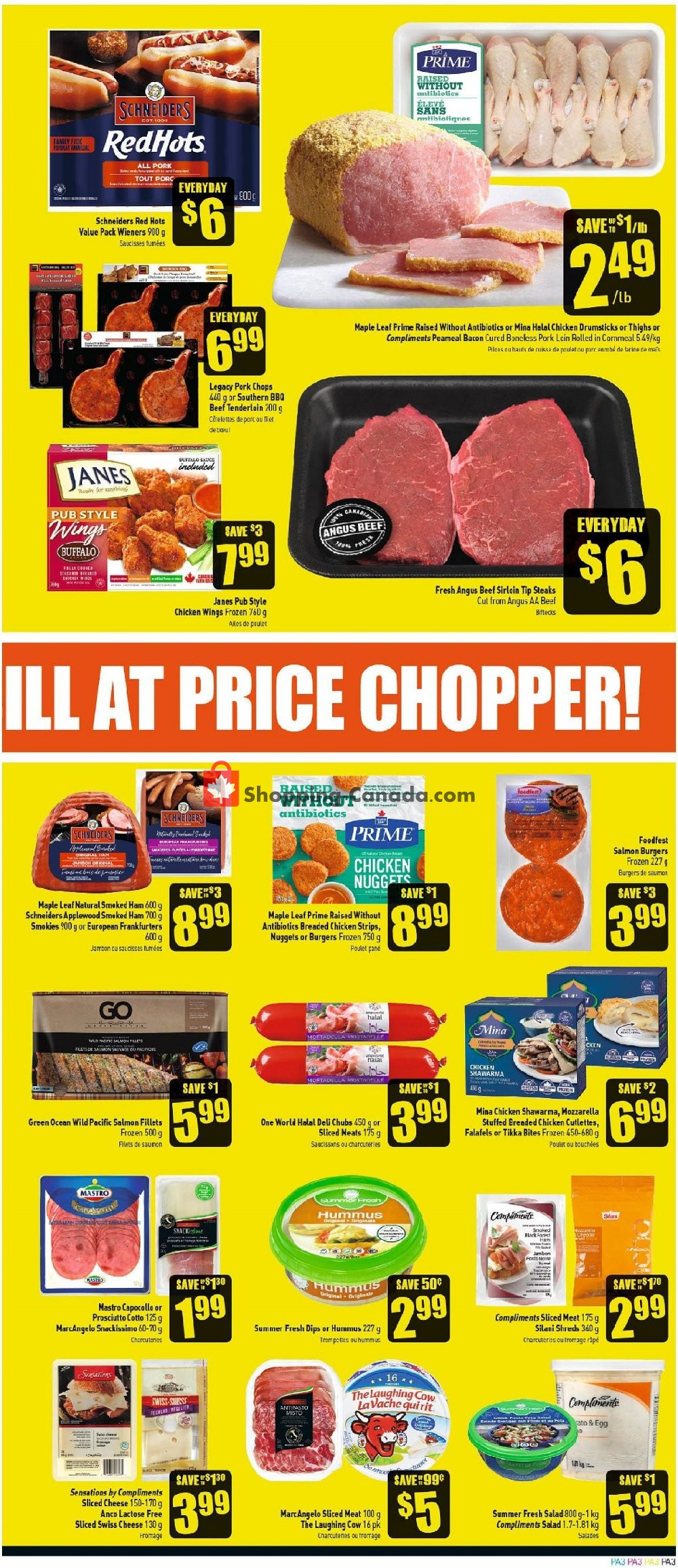 Flyer Price Chopper Canada - from Thursday August 8, 2019 to Wednesday August 14, 2019