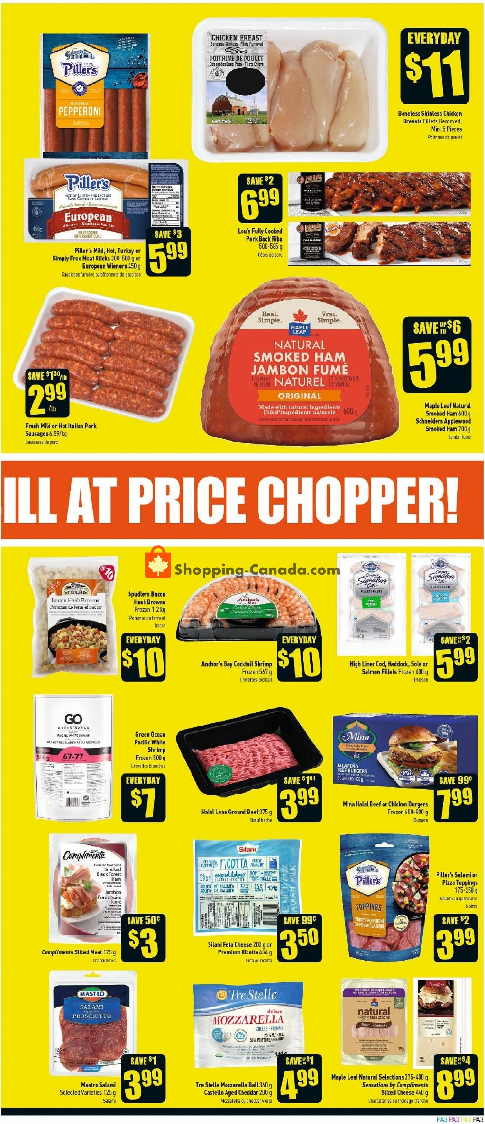 Flyer Price Chopper Canada - from Thursday July 11, 2019 to Wednesday July 17, 2019