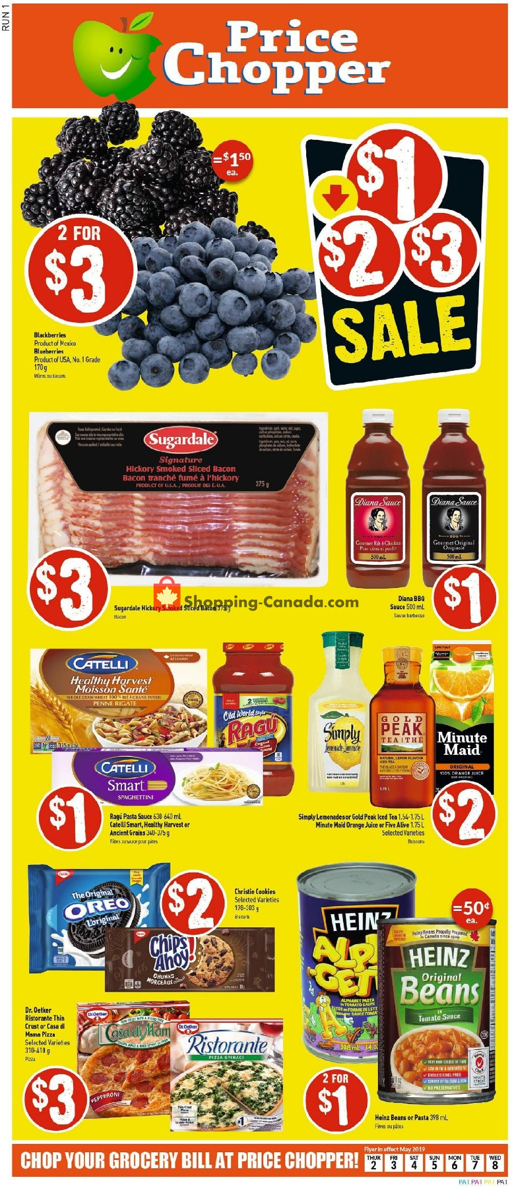 Flyer Price Chopper Canada - from Thursday May 2, 2019 to Wednesday May 8, 2019