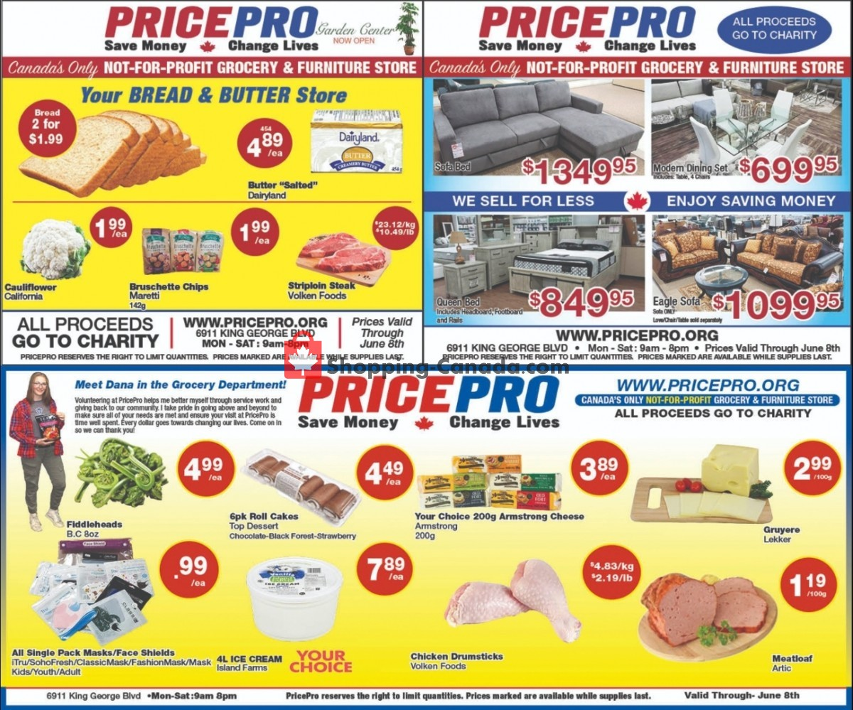 Flyer Price Pro Canada - from Wednesday June 2, 2021 to Tuesday June 8, 2021