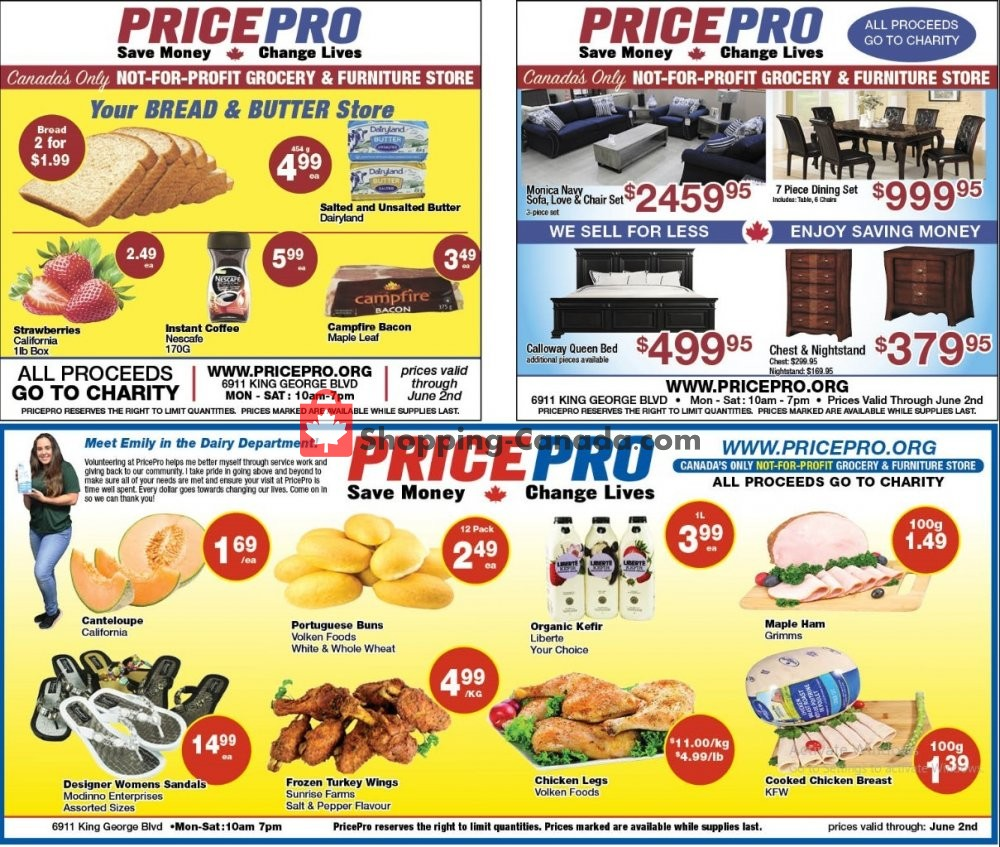 Flyer Price Pro Canada - from Tuesday May 26, 2020 to Tuesday June 2, 2020