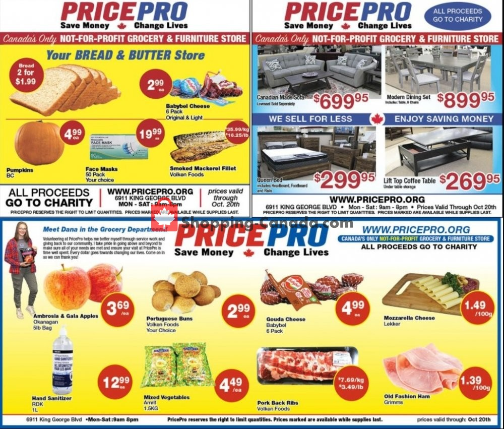 Flyer Price Pro Canada - from Wednesday October 14, 2020 to Tuesday October 20, 2020