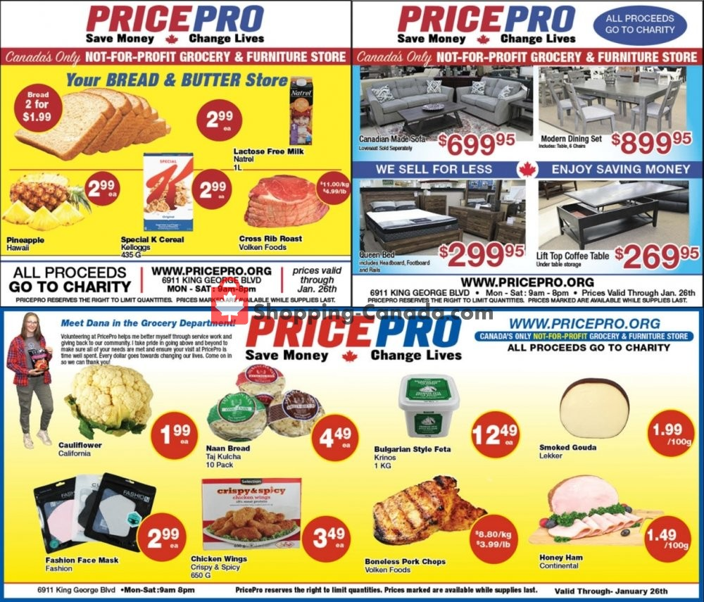 Flyer Price Pro Canada - from Wednesday January 20, 2021 to Tuesday January 26, 2021