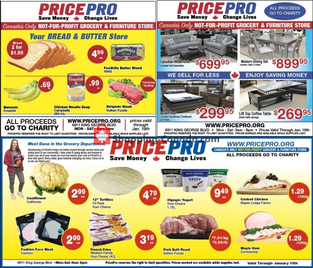 Flyer Price Pro Canada - from Wednesday January 13, 2021 to Tuesday January 19, 2021