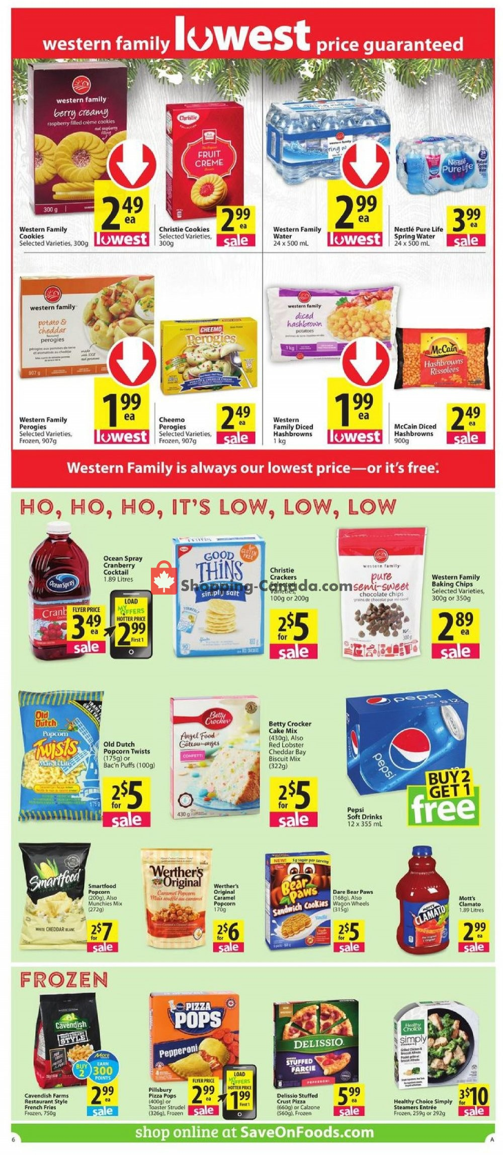 Flyer PriceSmart Foods Canada - from Thursday November 7, 2019 to Wednesday November 13, 2019