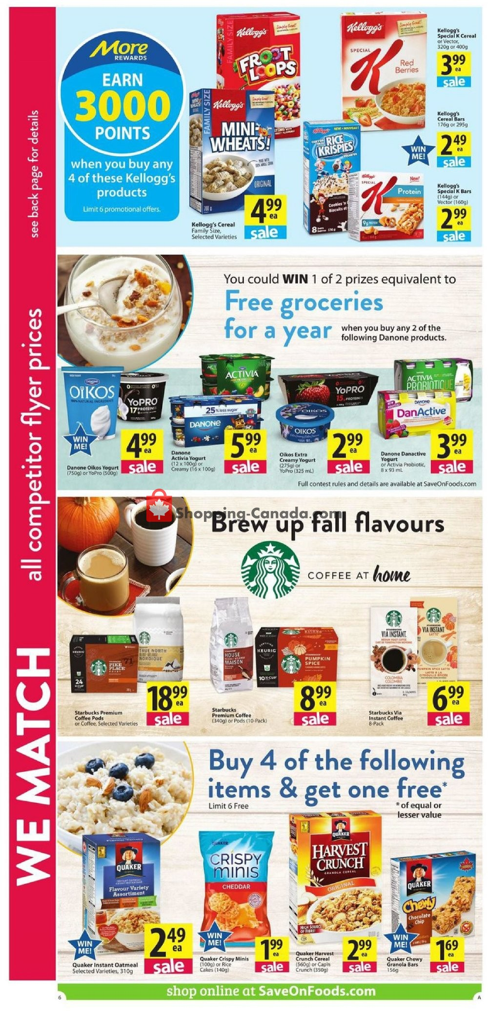 Flyer PriceSmart Foods Canada - from Thursday September 5, 2019 to Wednesday September 11, 2019