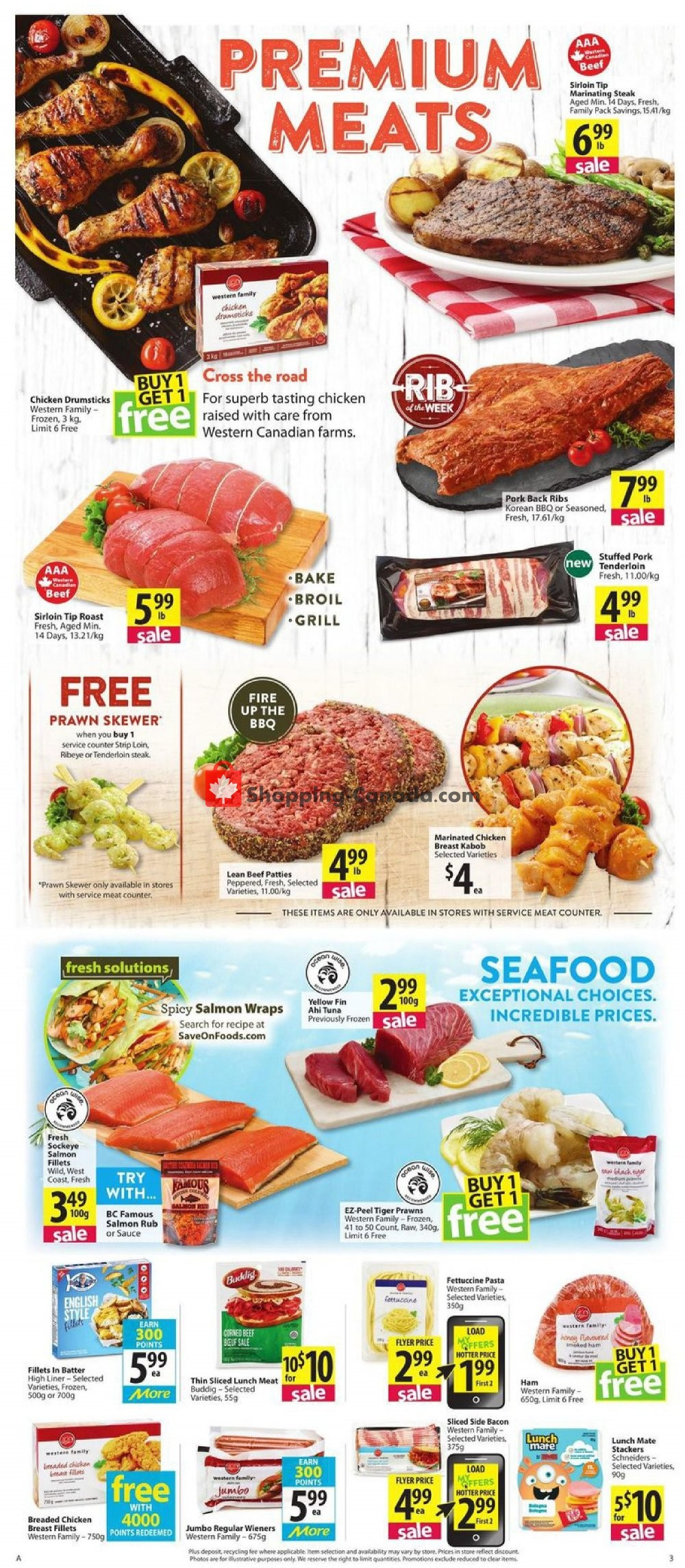 Flyer PriceSmart Foods Canada - from Thursday August 8, 2019 to Wednesday August 14, 2019