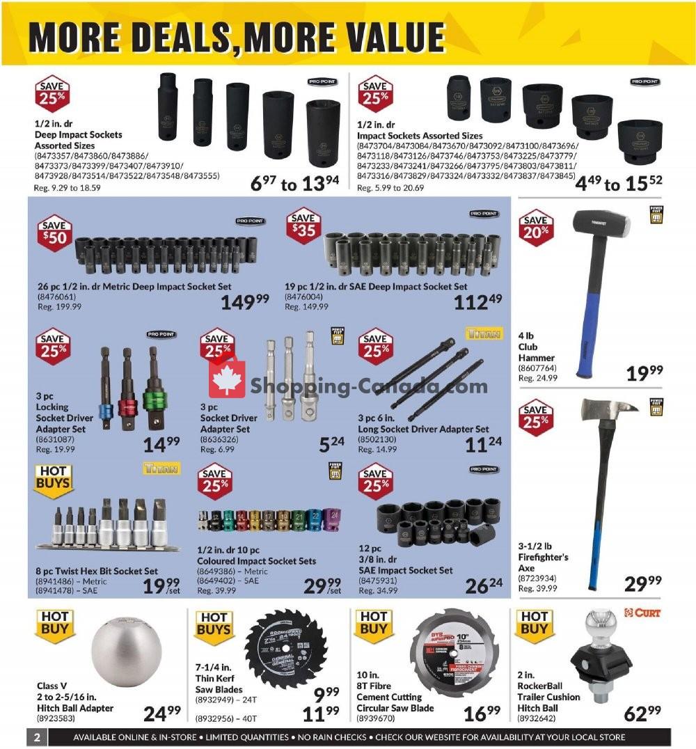 Princess Auto Canada, flyer - (More Deals, More Value - ON ...