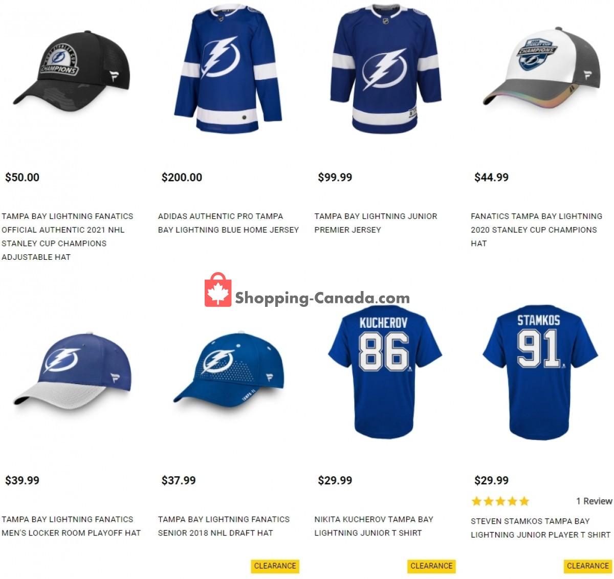 Flyer Pro Hockey Life Canada - from Friday July 16, 2021 to Thursday July 22, 2021