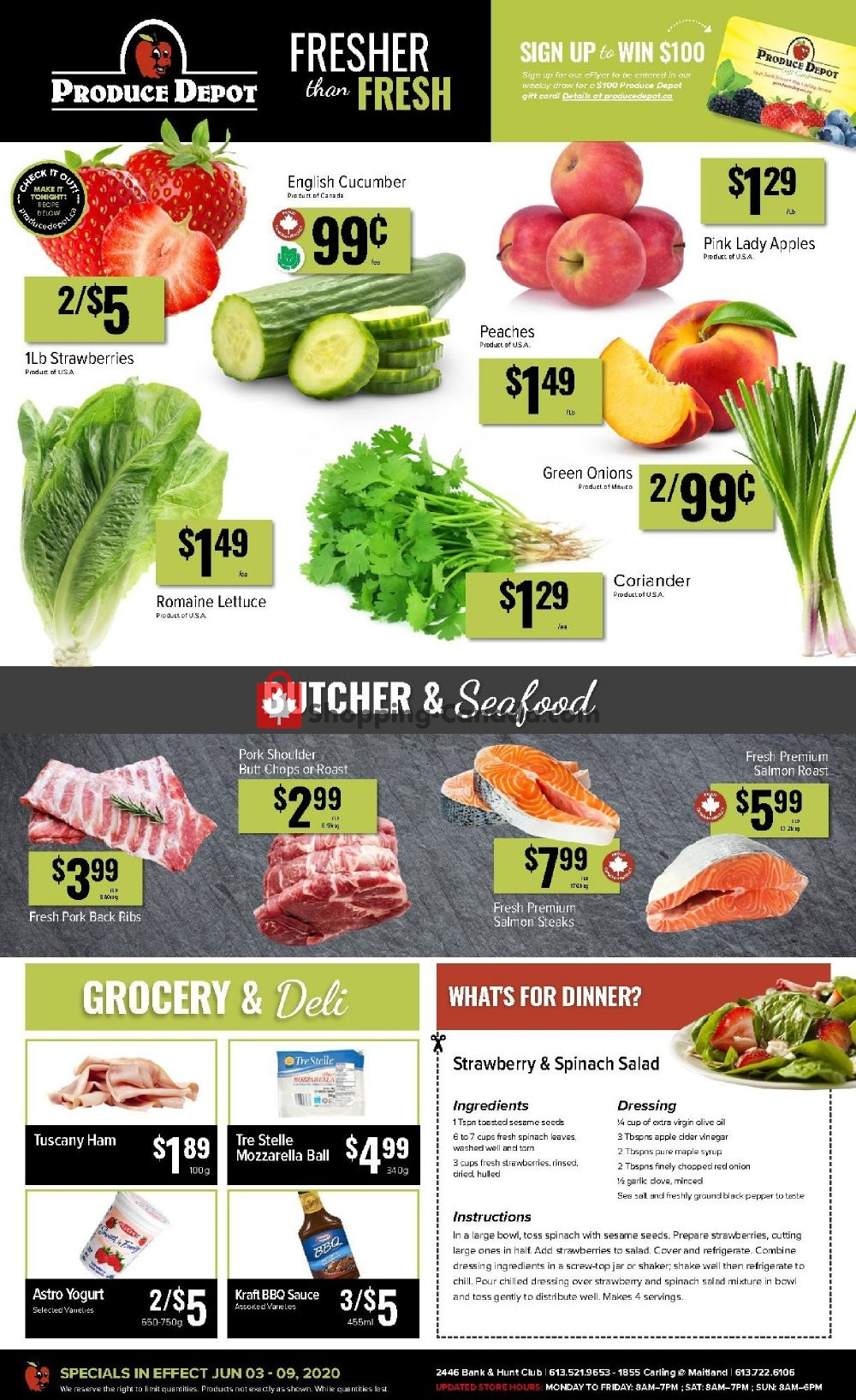 Flyer Produce Depot Canada - from Wednesday June 3, 2020 to Tuesday June 9, 2020