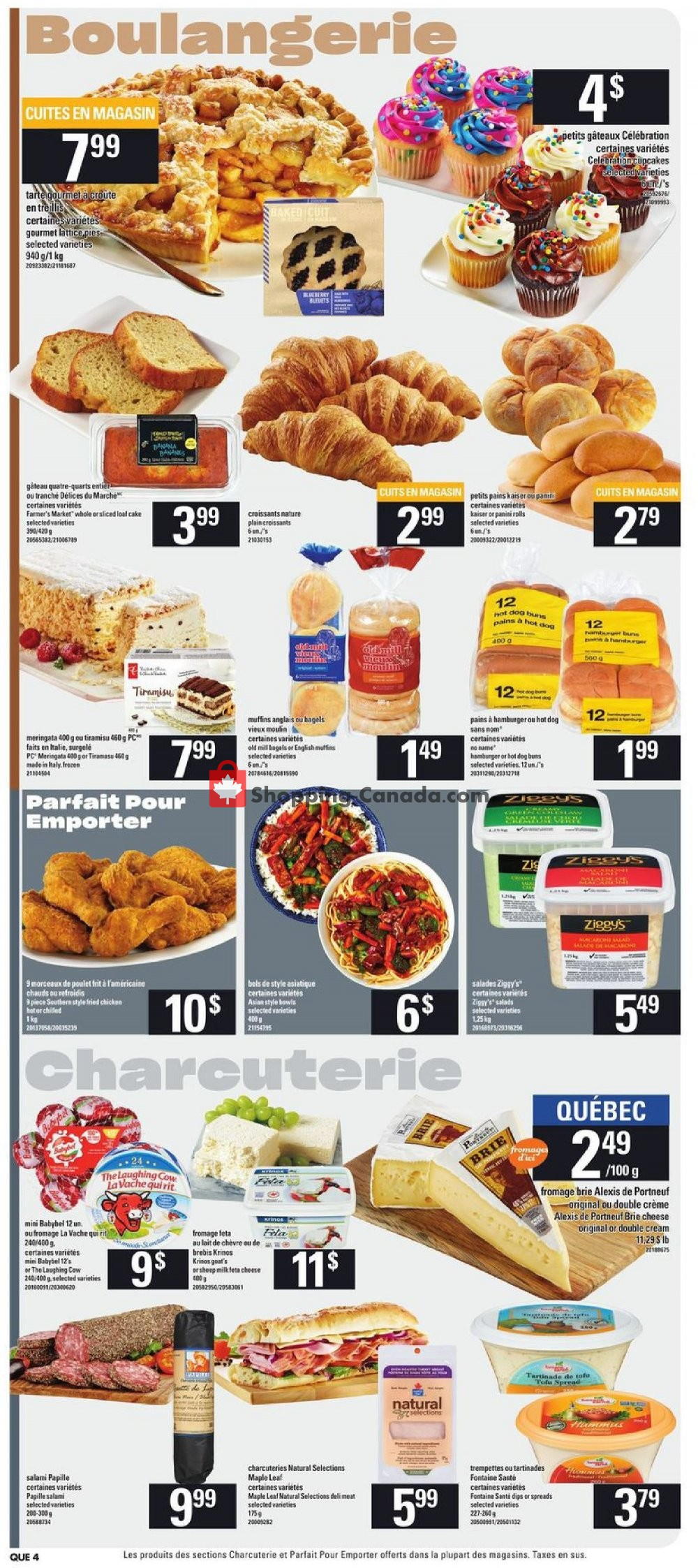 Flyer Provigo Canada - from Thursday August 8, 2019 to Wednesday August 14, 2019