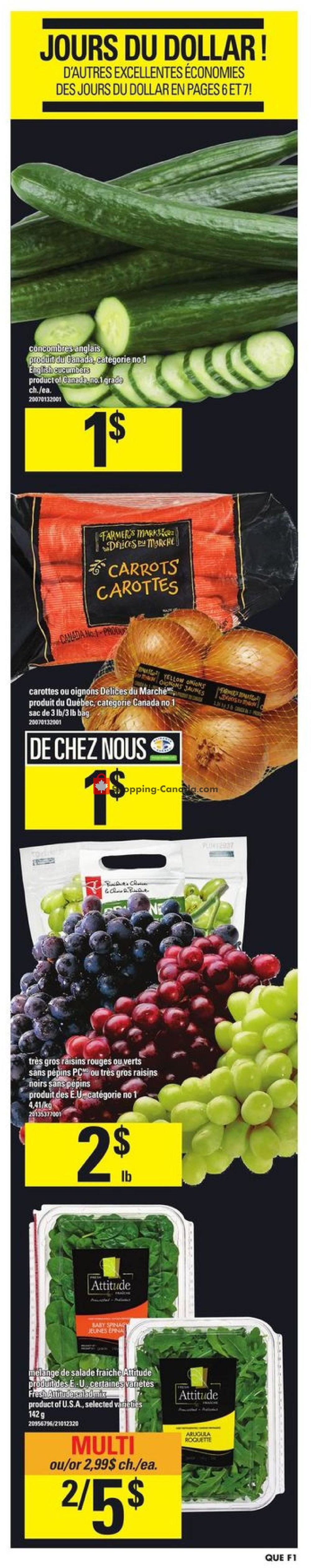 Flyer Provigo Canada - from Thursday October 18, 2018 to Wednesday October 24, 2018