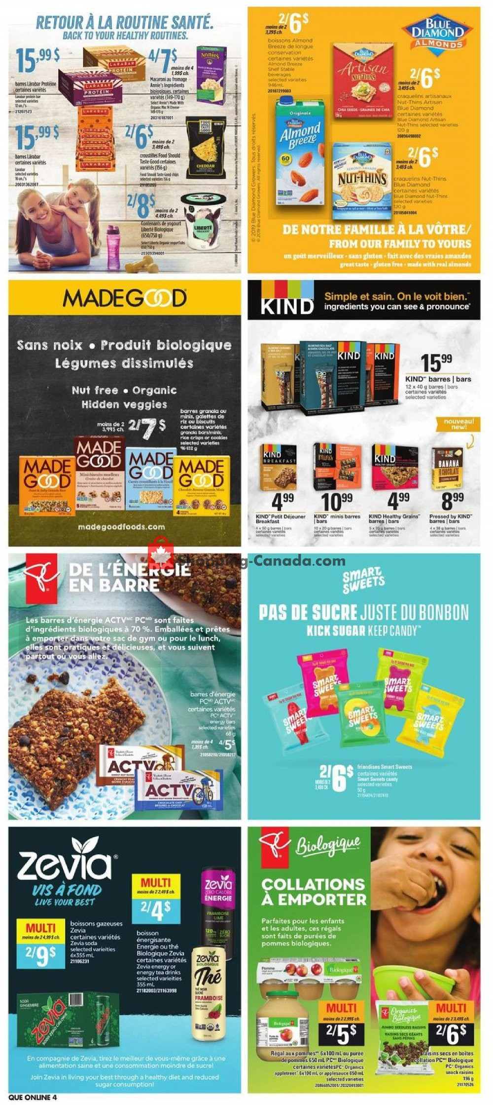 Flyer Provigo Canada - from Thursday January 16, 2020 to Wednesday January 22, 2020