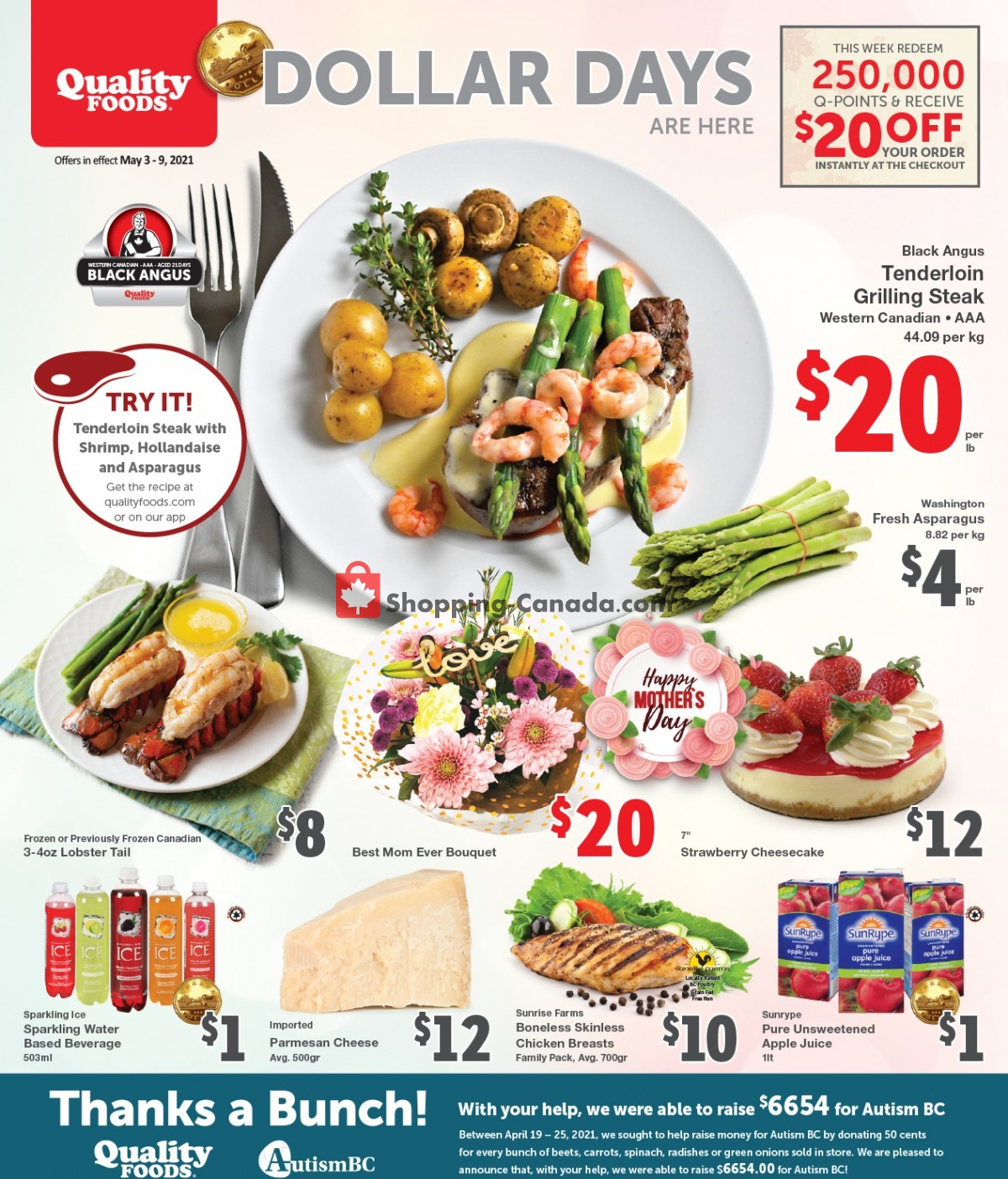 Flyer Quality Foods Canada - from Monday May 3, 2021 to Sunday May 9, 2021