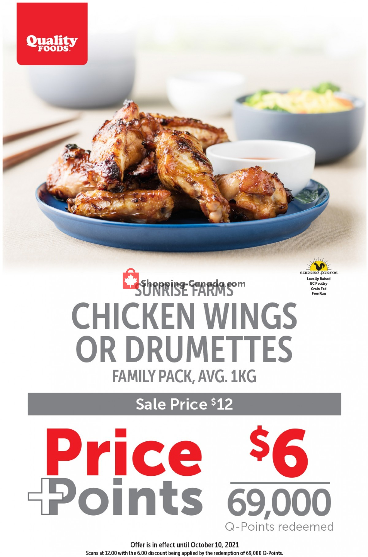 Flyer Quality Foods Canada - from Monday October 4, 2021 to Sunday October 10, 2021